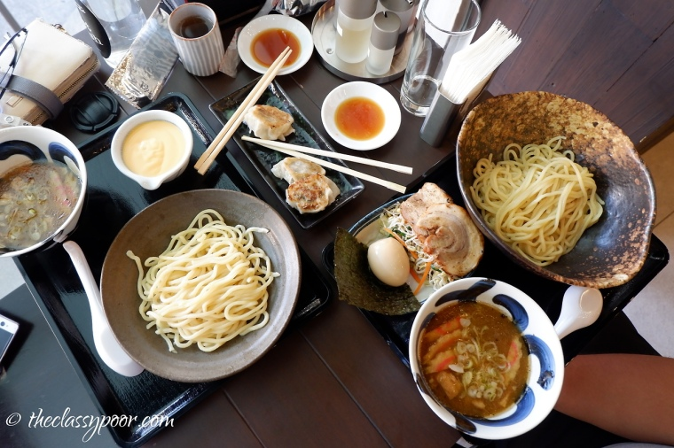 Crowded with Japanese goodness.